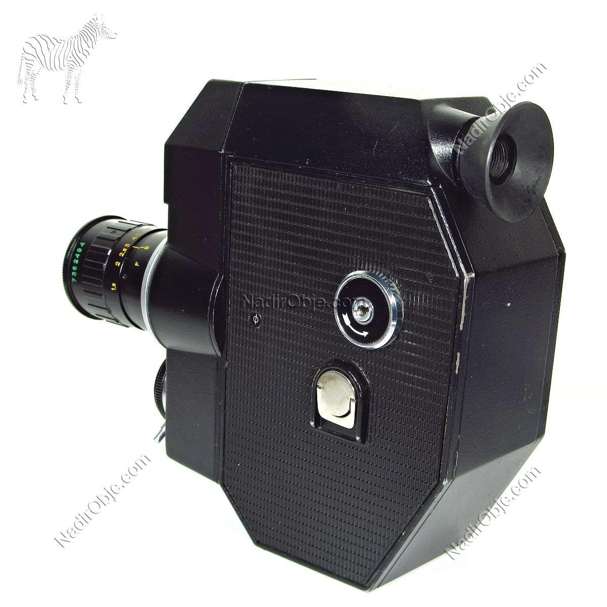 QUARZ 5 Sinema Makinası – N1960 Mekanik-Elektrikli Objeler Film