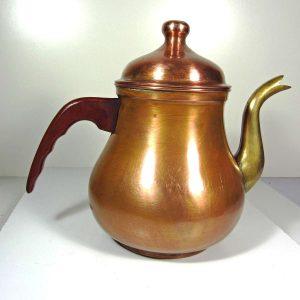 Bakır Çaydanlık – N1967 Metal Objeler Bakalit