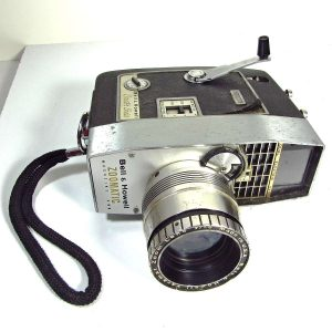 Bell & Howell Zoomatic 8 mm Kamera – N1976 Mekanik-Elektrikli Objeler 8 mm