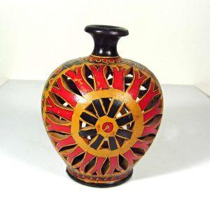 Afrika Kandil – N1990 Seramik-Porselen Objeler Afrika