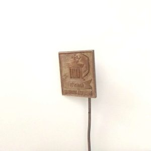 Franck 80. Yıl Rozet – N2026 Metal Objeler Lapel Badge