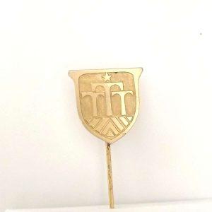 TTT Logolu Rozet – N2034 Metal Objeler Lapel Badge