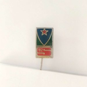 82 Rozet – N2053 Metal Objeler Lapel Badge