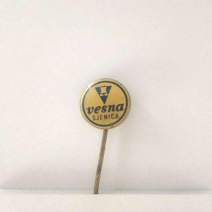 Vesna Rozet – N2060 Metal Objeler Lapel Badge