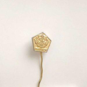SSJ Rozet – N2072 Metal Objeler Lapel Badge
