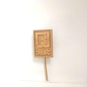 Best Rozet – N2075 Metal Objeler Lapel Badge
