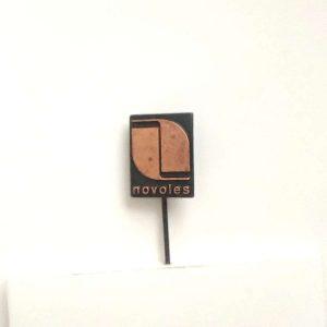 Novoles Rozet – N2082 Metal Objeler Lapel Badge