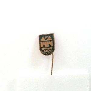 Sarajevo Rozet – N2099 Metal Objeler Lapel Badge