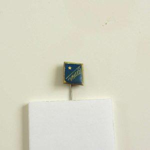 Elyazı ve Yıldız Rozet – N2102 Metal Objeler Lapel Badge