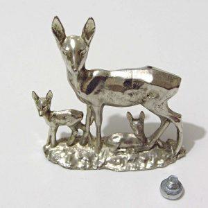 Krom Ceylan Figürü – N2121 Metal Objeler Ceylan