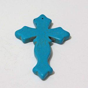Mavi Haç – N2123 Cam-Taş Objeler Dini