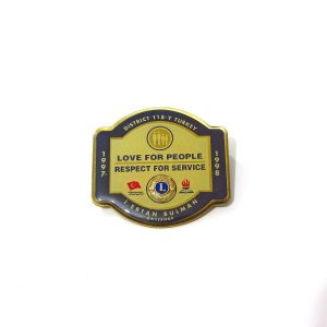 1997-1998 Lions Rozet – N2148 Metal Objeler Lapel Badge