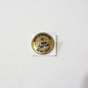 2006-2007 Lions Rozet – N2149 Metal Objeler Lapel Badge
