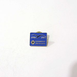 1996-1997 Lions Rozet – N2159 Metal Objeler Lapel Badge