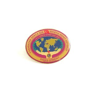 2002-2003 Lions Rozet – N2160 Metal Objeler Lapel Badge