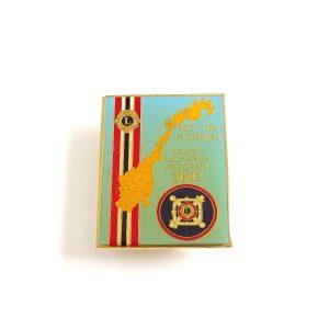 2002 Lions Rozet – N2162 Metal Objeler Lapel Badge