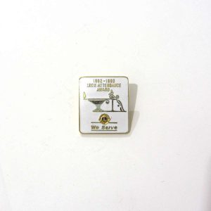 1993-1993 Mineli Lions Rozet – N2184 Metal Objeler Lapel Badge