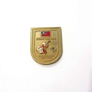 1987 ROC Lions Roet – N2186 Metal Objeler Lapel Badge