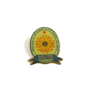 2000-2001 Lions Rozet – N2188 Metal Objeler Lapel Badge