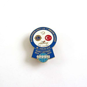 2012-2013 Lions Rozet – N2190 Metal Objeler Lapel Badge
