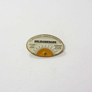 Solidariedade 2002-2003 Lions Rozet – N2198 Metal Objeler Lapel Badge