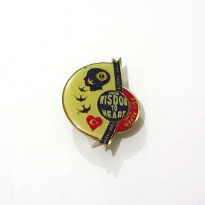 1998-1999 Lions Rozet – N2202 Metal Objeler Lapel Badge