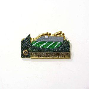 60.Yıl Lions Rozet – N2206 Metal Objeler Lapel Badge