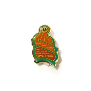 1996-97 Lions Rozet – N2207 Metal Objeler Lapel Badge