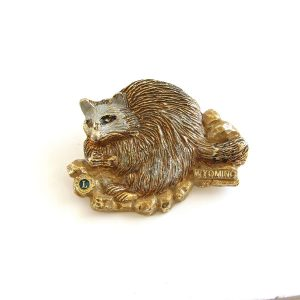 Wyoming 87 Lions Rozet Metal Objeler Lapel Badge