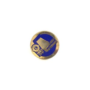 1980-1981 Lions Rozet Metal Objeler Lapel Badge