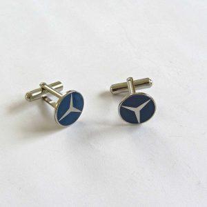 Mercedes Kol Düğmeleri Metal Objeler Kol Düğmesi