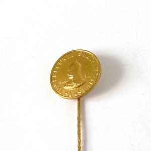 Malazgirt Zaferi'nin 900.Yılı Altın Kaplama Rozet Metal Objeler 1071