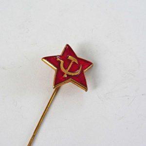 Orak Çekiçli Rozet Metal Objeler Lapel Badge