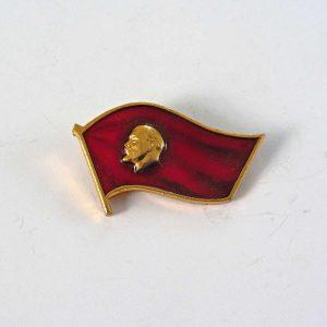 Leninli Yaka Rozeti Metal Objeler Lapel Badge
