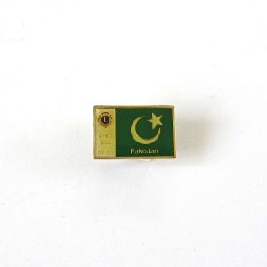 Pakistal Lions Rozet Metal Objeler Lapel Badge