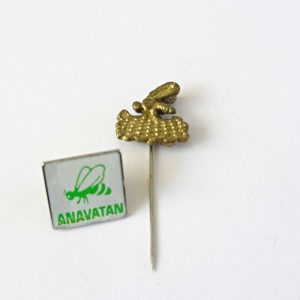 Anavatan Partisi Rozet Metal Objeler Lapel Badge