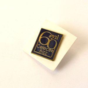 Gelecek Biziz Rozet Metal Objeler Lapel Badge
