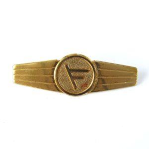 Büyük Sarı Rozet Metal Objeler Lapel Badge