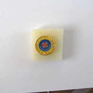 Caspian Transco Rozet Metal Objeler Lapel Badge
