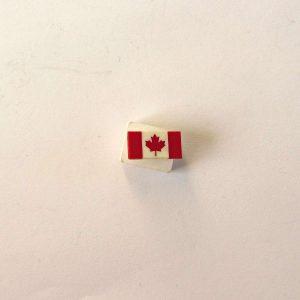 Kanada Bayrağı Rozet Metal Objeler Bayrak