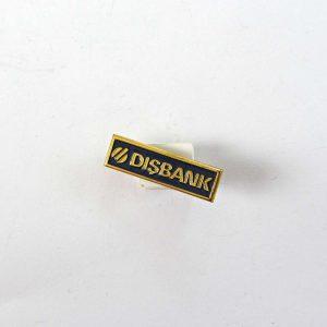 Dışbank Rozet Metal Objeler Banka