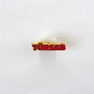 TÜRSAB Rozet Metal Objeler Lapel Badge