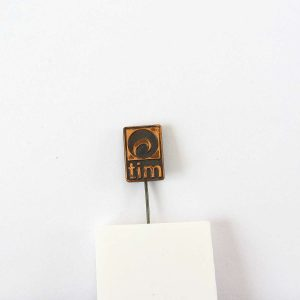 tim Rozet Metal Objeler Lapel Badge