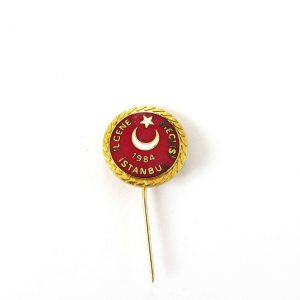 İl Genel Meclisi Rozet Metal Objeler İstanbul