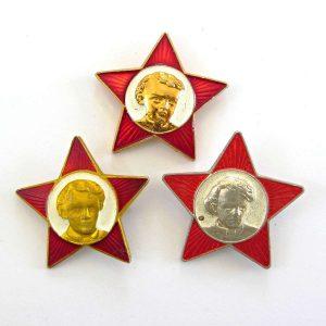 3 Farklı Renk Annelik Rozeti Metal Objeler Lapel Badge