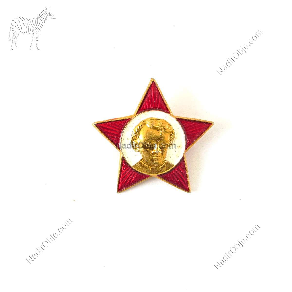 Sovyet Annelik Rozeti Metal Objeler Lapel Badge