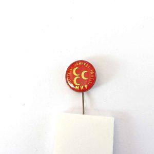 MHP Rozet Metal Objeler Lapel Badge