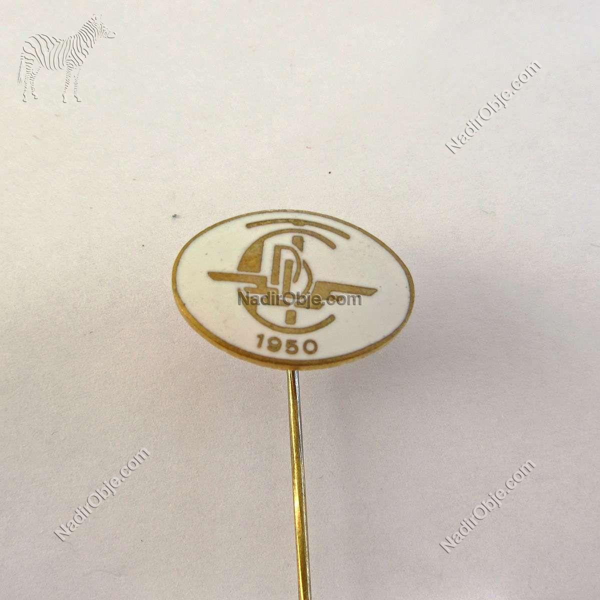 TCCD Rozet Metal Objeler Lapel Badge