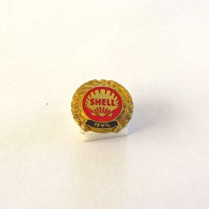 SHELL 15 Yıl Rozet Metal Objeler Lapel Badge