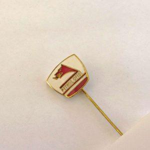 Petrol Ofisi Rozet Metal Objeler Lapel Badge